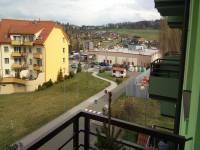 výhled z balkóna