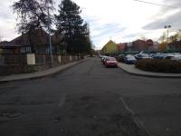 ulice venku